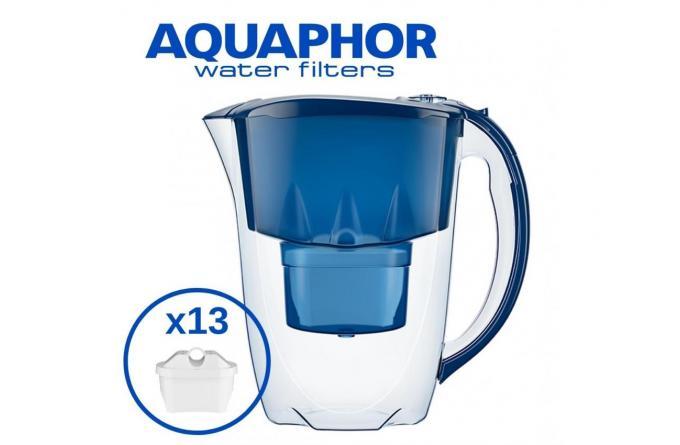 Фильтр-Кувшин Аметист, 2,8 л. + комплект из 13 фильтров